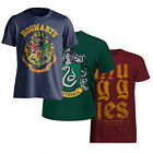 Harry Potter Mens T-Shirt Muggles Crew Neck Hogwarts Slytherin Alumni Tee Shirt