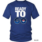 Most Popular Pokemon Go Ready to Go Pokeball Funny Cool Men's Tee Shirt Marked Q