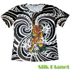 JAPANESE Irezumi TATTOO TIGER T SHIRT TOP ASIAN ART PRINT PAINTING JAPAN YAKUZA