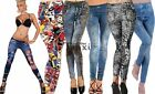 Fashion Womens Jean Skinny Jeggings Stretchy Slim Leggings Fashion Skinny Pants