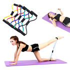Resistance Training Bands Rope Tube Workout Stretch Exercise For Yoga 8 Type New image
