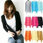 Women Ladies Casual Long Sleeve Loose Tops Knitted Sweater Cardigan Coat Outwear
