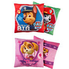 PAW PATROL DOUBLE SIDED STUFFED CUSHIONS CHILDRENS KIDS BEDROOM PILLOW