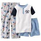 CARTER'S Boys' 5-8 Home Run Champ 3 Pc. Pajama Set *NWT*
