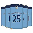 MAN CITY FC PLAYER HOME KIT 2016/17 2 ÉTUI COQUE EN GEL POUR SAMSUNG PHONES 2