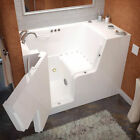 """Therapeutic Tubs Mohave 53"""" x 29"""" Walk-In Air Jetted Bathtub"""