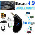 Bluetooth 4.0 Receiver 3.5mm AUX Car Wireless Music Audio Stereo Adapter Speaker