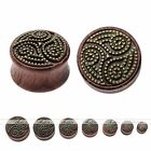 Organic Sono Wood Native Sheep Totem Ear Plug Tunnel Expander Stretcher Piercing