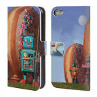 OFFICIAL ERIC JOYNER DONUTS LEATHER BOOK WALLET CASE FOR APPLE iPOD TOUCH MP3