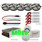 5050 Waterproof RGB Strip+RF touch Remote controller +Power adapter+Amplifier