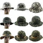 Mens Boonie Bucket Hat Military Army Tactical Operator Summer Outdoor Sun Cap