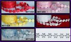 SATIN DAISIES LACE RIBBON 10MM 90 PCS (1METER)