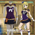 Fairy Tail Lucy Heartfilia The Grand Magic Game Cosplay Costume Full Set FREE PP