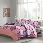 Comforter Sets For Teen Girls Twin Full Queen Kids Coral Pink Bedding Sheets