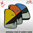 DOUBLE FISH TABLE TENNIS -R-SHAPE RACKET BAG / BAT COVER / PING PONG PADDLE CASE