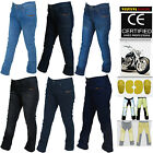 Women Motorbike Jeans Pants With Protective Lining And CE Approved Armour