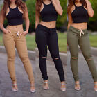 Women High Waist Leggings Pants Fitness Sexy Long Casual Korean Trousers New