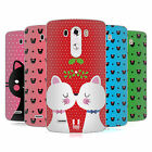 HEAD CASE DESIGNS CHRISTMAS CATS SOFT GEL CASE FOR LG PHONES 1
