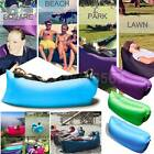 Fast Air Inflatable Waterproof Lazy Sleeping Bag Sofa Camping Outdoor Couch Bed