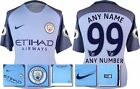 *16 / 17 - NIKE ; MAN CITY HOME SHIRT SS + PATCHES / PERSONALISED = SIZE*