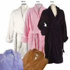 LCM Home Fashions Women's Cotton Terrycloth Bath Robe
