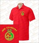 HMS COVENTRY Embroidered Polo Shirts