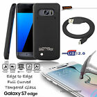 3-IN-1 Galaxy S7 Edge External Battery Backup Case Charger Power Bank 5200mAh
