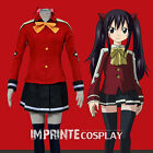 Fairy Tail Wendy Marvell Edolas Outfit Cosplay Costume Full Set FREE P&P