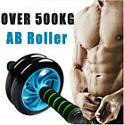 Muscle Double-wheeled Updated Abdominal Wheel Ab Roller gym Fitness Equipment
