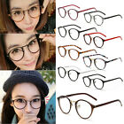 Unisex Men Women Eyeglasses Round Clear Lens Vintage Retro Geek Fashion Glasses