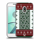 HEAD CASE DESIGNS KNITTED CHRISTMAS SOFT GEL CASE FOR MOTOROLA MOTO G4 PLAY