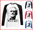 Jeremy Corbyn t shirt baseball tee long sleeved labour leader socialist s - 2XL