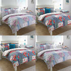 Paoletti Rosie Patchwork Print 100% Cotton 200 Thread Count Duvet Cover Set