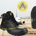 Tactical Composite Toe Safety Police Work  Metal Free Safety boots AS302 UK 6-12