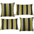 Scatter Box Solitaire Chenille Feather Filled Cushion