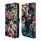 OFFICIAL RIZA PEKER FLOWERS 2 LEATHER BOOK WALLET CASE COVER FOR LG PHONES 1
