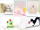 KAILIZ 3D Piano Cake Birthday Card 3D Greeting Card Gifts NEW Design UK STOCK