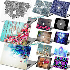 "Mandala Wood Paint Rubberized Hard Case Cover For Macbook Pro 13""15 Air 11""12""13"