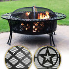 Sunnydaze Large Bowl Fire Pit Durable Steel Patio Garden Camping - Choose Style
