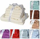 Havana 10 Piece Towel Bale Set,  Soft 100% Pure Egyptian Cotton Towels