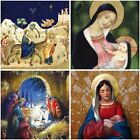 Tracks Christmas Religious Greeting Xmas Marie Curie Cancer Charity 5 Card Pack