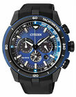 Citizen Eco-Drive Chronograph 100m Blue Sports Watch CA4155-12L CA4155-04L