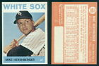 (46601) 1964 Topps 465 Mike Hershberger White Sox-EM