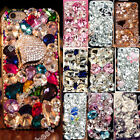 Luxury Bling Cover Skins Crystal Diamond Rhinestone Hard Case For Samsung iPhone