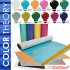 "Color Theory GLITTER Heat Transfer Vinyl 20"" x 12"" - 6,10,12-Color BUNDLES, HTV"