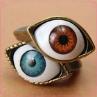Fashionable Vintage Evil Eye Finger Ring Eyeball Punk Goth Jewellery Stylish
