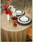 "50"" Round Sequin Tablecloth,Sequin Tablecloth Wedding,Sequin Linen for Party"