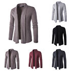 Occident Men's Casual Long Sleeve Knitted Sweater Coat Warm Outerwear Cardigan