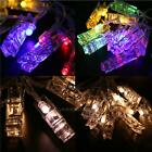 1.3M 10 led Christmas Wedding Xmas Party Decor Outdoor Fairy String Light Lamp