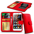 For UMI ROME - Clamp Style PU Leather Wallet Case Cover
